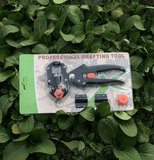Tree Grafting Or Pruning Tool Secateurs Scissors with 2 Blades - Garden Oasis