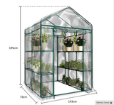 PVC Warm Garden Tier Mini Household Plant Greenhouse Cover (Sold without Metal Plant Stand) - Garden Oasis
