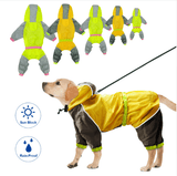 Waterproof Dog Reflective Raincoat - Garden Oasis