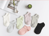 5 Pairs Women Cotton Socks 10 Styles - Garden Oasis