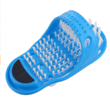 Plastic Shower Foot Massage Scrubber