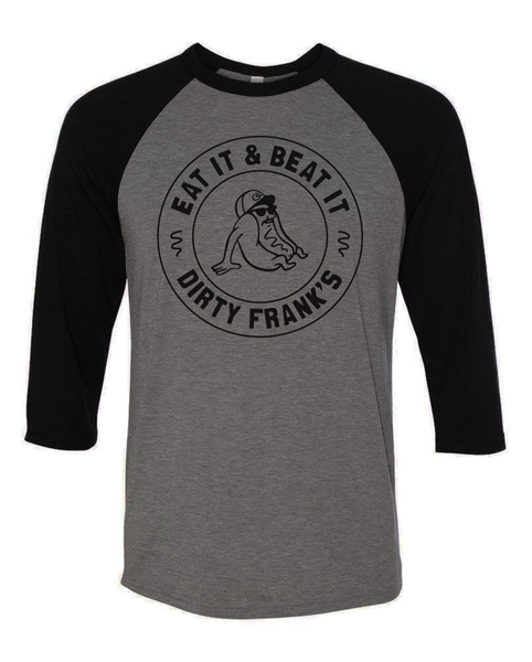 Eat It & Beat It Baseball Tee