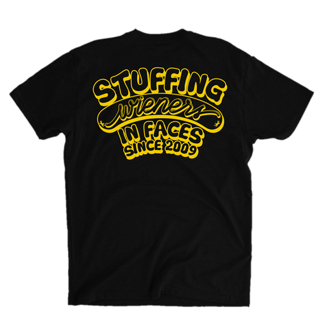 Stuffing Wieners In Faces - Black or Yellow