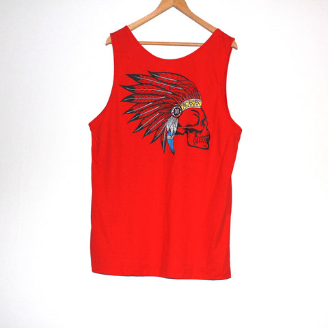 Indian Headdress Tank