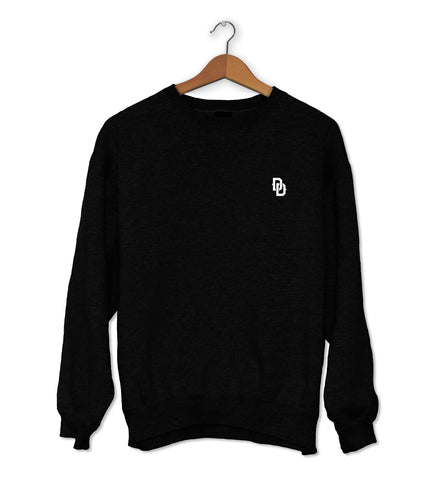 DD Crew Neck Jumper Black