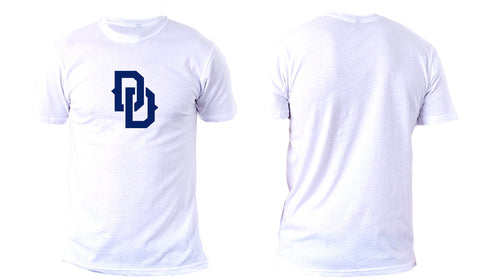DD Chest Crest Tee White