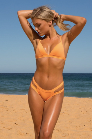 Charlie Mae SKY | Burnt Orange Bikini