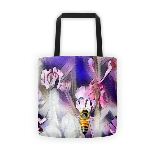 Bee on a Flower Tote bag - JenC Designs