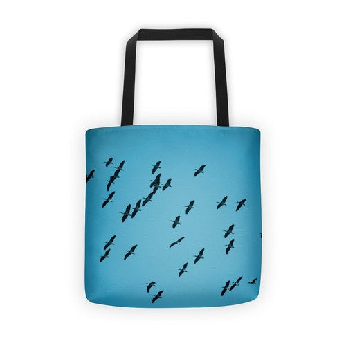 IbisSky Blue Tote bag - JenC Designs