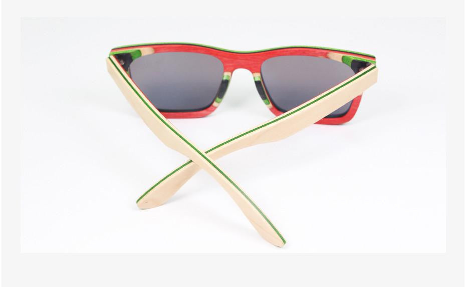 Bamboo Sunglasses - Retro