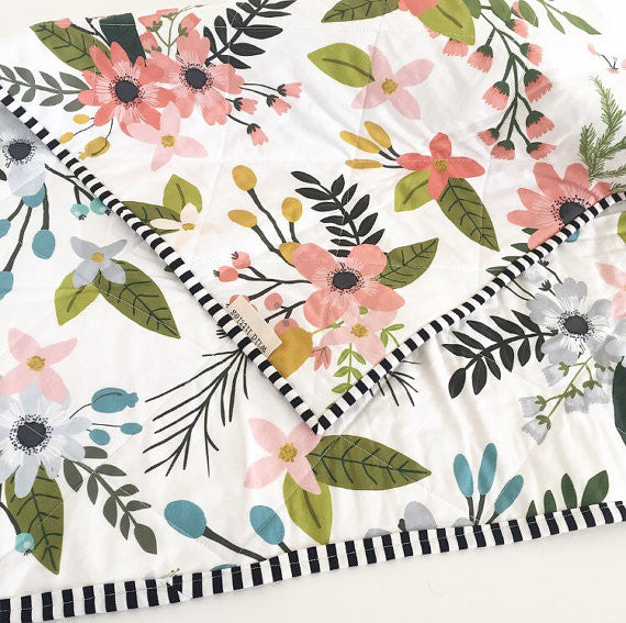 Blooms + Botanicals Quilt - Made to Order