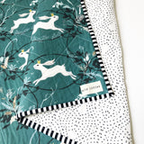 Bunny Prince Wholecloth Quilt - Made to Order