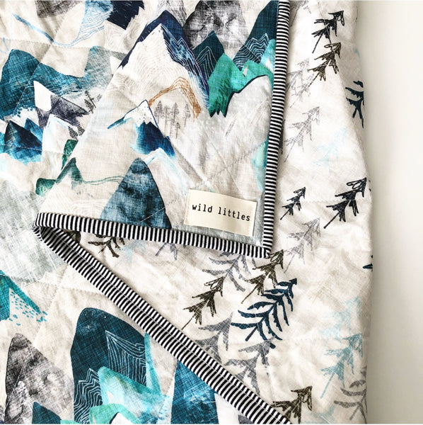 Sea to Sky Wholecloth Quilt - Made to Order
