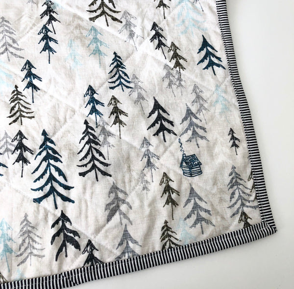 Sea to Sky Wholecloth Quilt