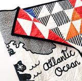 Oh Canada Wholecloth Quilt - Made to Order