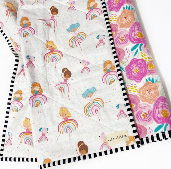 Ballerina Wholecloth Quilt - Made to Order