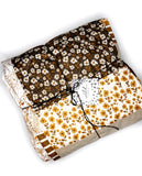 Primavera + Hedgehog Patchwork Baby Quilt - Ready to Ship