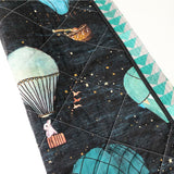 Adventure is Up Wholecloth Quilt - Made to Order