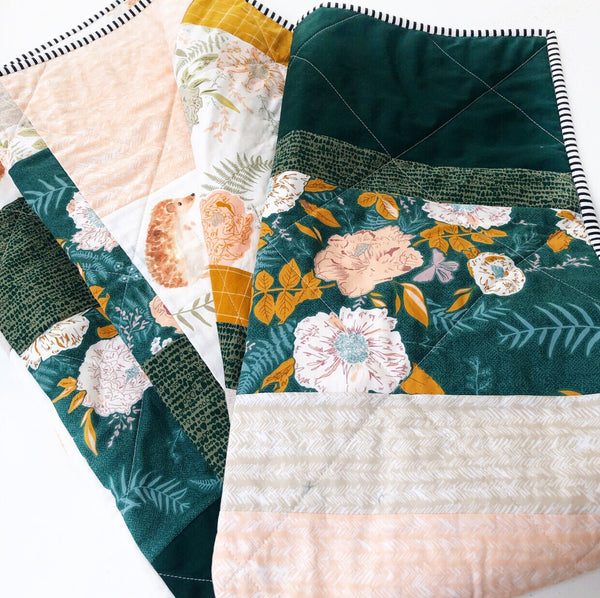 Gather Floral Patchwork Quilt