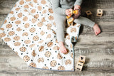 Milk + Cookies Wholecloth Quilt - Made to Order