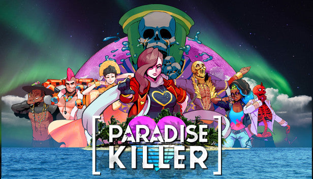 Paradise Killer Artwork