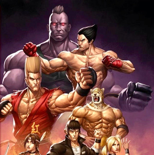 Tekken Art work