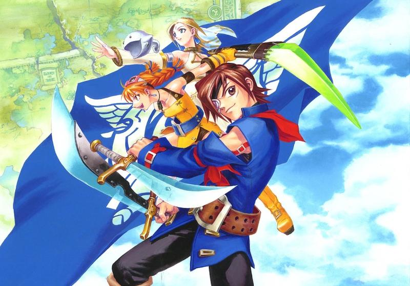 Skies of Arcadia Artwork