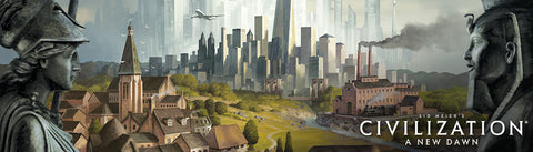 Sid Meier's Civilization: A New Dawn Board Game banner