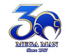 Mega Man 30th Anniversary Logo