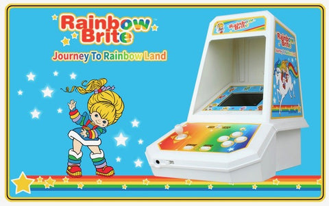 Rainbow Brite Miniature Arcade console by Coleco