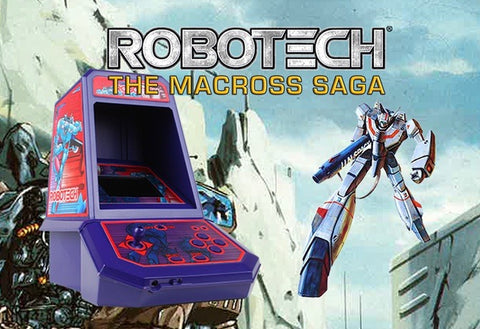 Robotech Macross Saga Mini Arcade machine