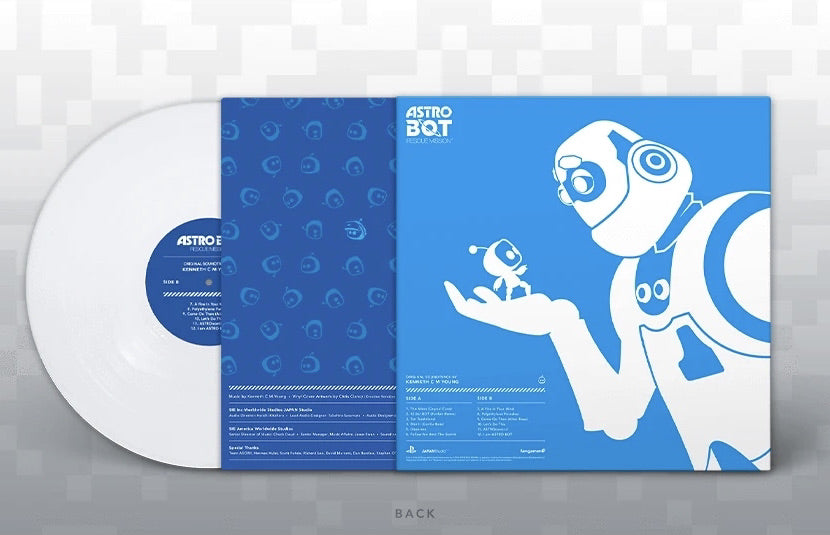 ASTRO BOT Rescue Mission Vinyl Soundtrack
