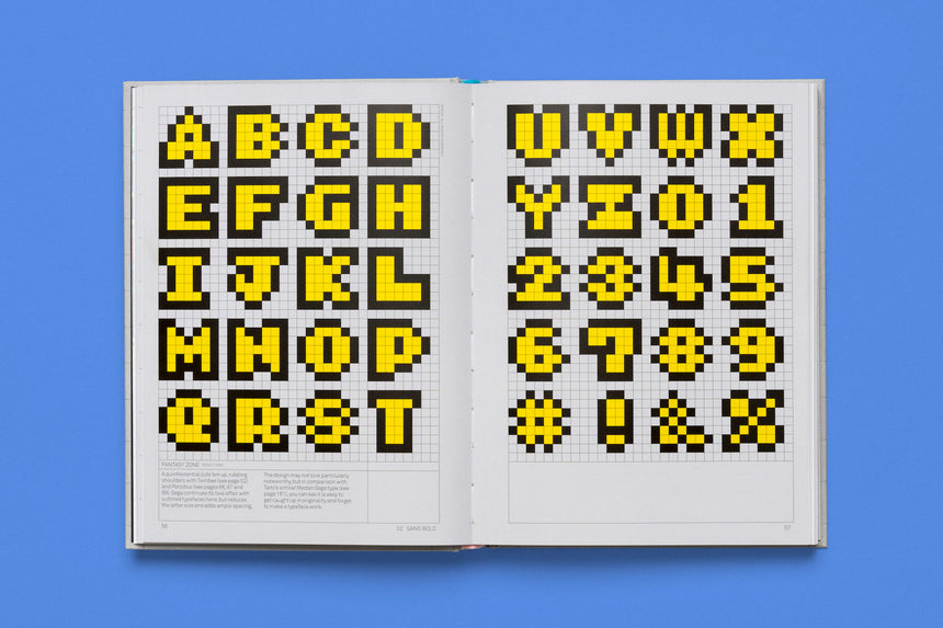 Arcade Game Typography