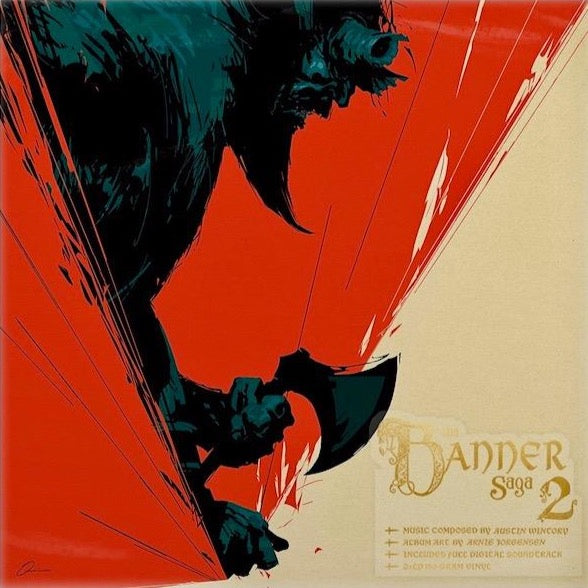 Banner Saga 2 Video Game Vinyl Soundtrack Cover