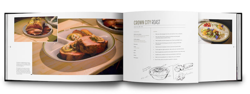 The Art and Design of Final Fantasy XV book recipes