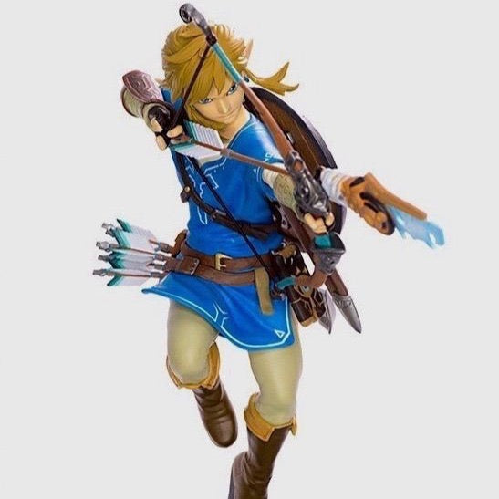 "The Legend of Zelda - Breath of the Wild 10"" Link Statue"