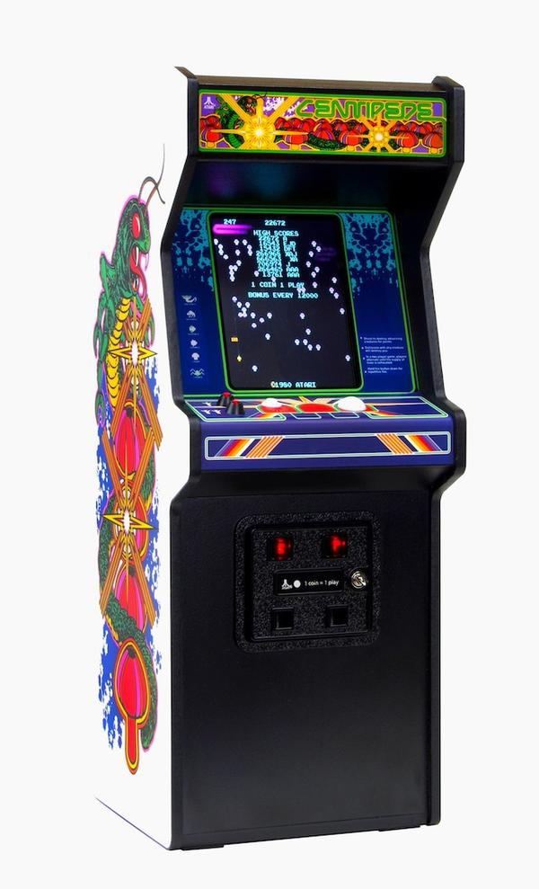 RepliCade Mini Centipede Arcade Machine