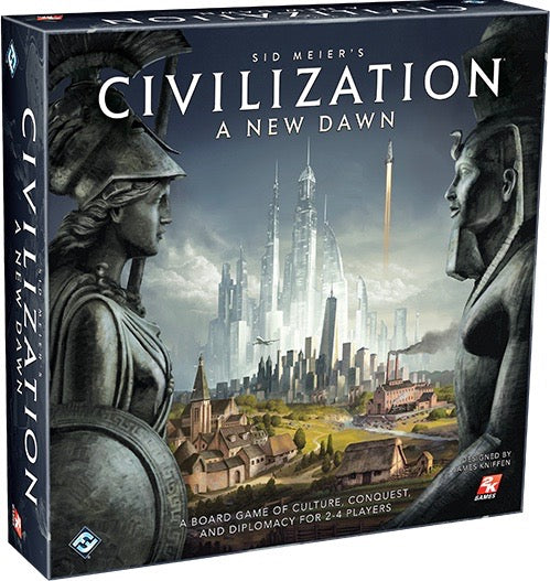 Sid Meier's Civilization a New Dawn Board Game