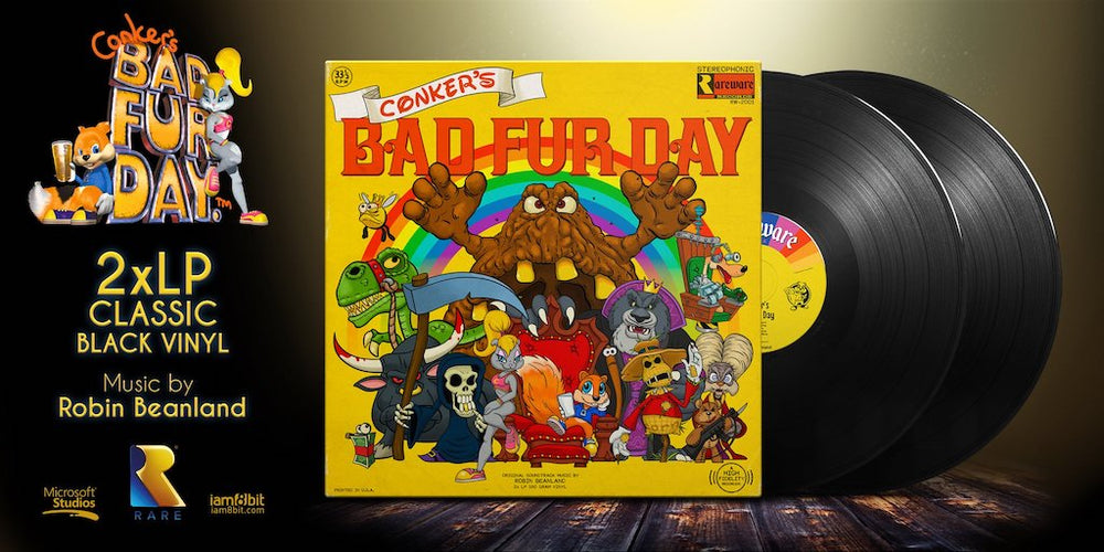 Conker's Bad Fur Day Album Cover