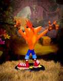Crash Bandicoot figurine rear view