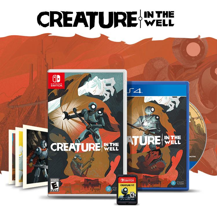 Creature in the Well - Nintendo Switch Physical Edition