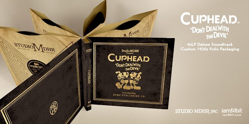 Cuphead Deluxe Vinyl 1930s era packaging