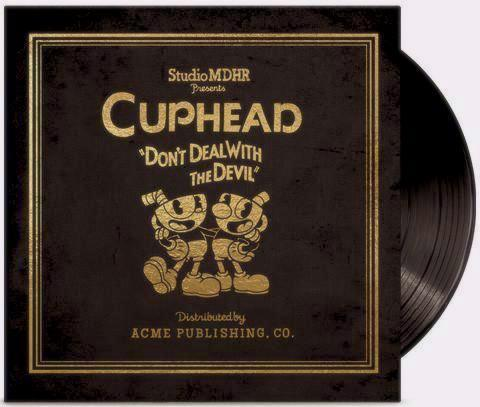 Cuphead 4 x LP Deluxe Vinyl Soundtrack Cover