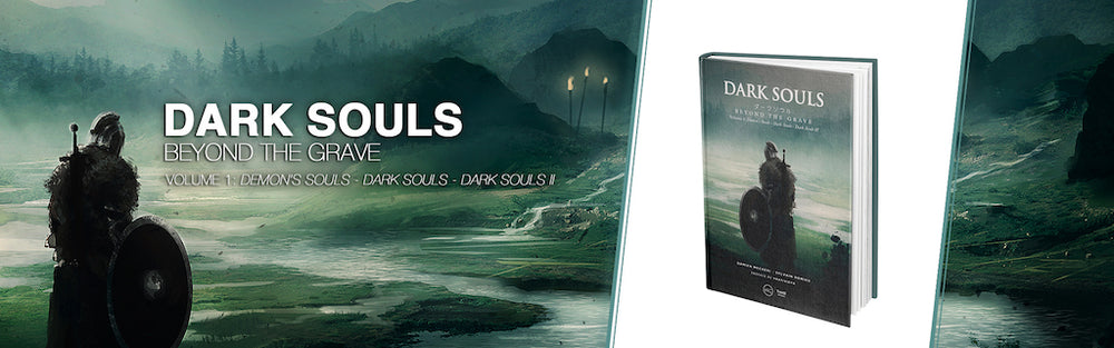 Dark Souls book advertising banner