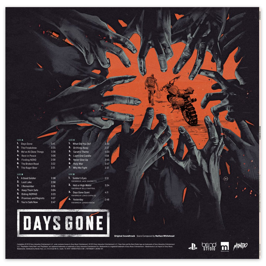 Days Gone – Original Video Game Soundtrack 2xLP
