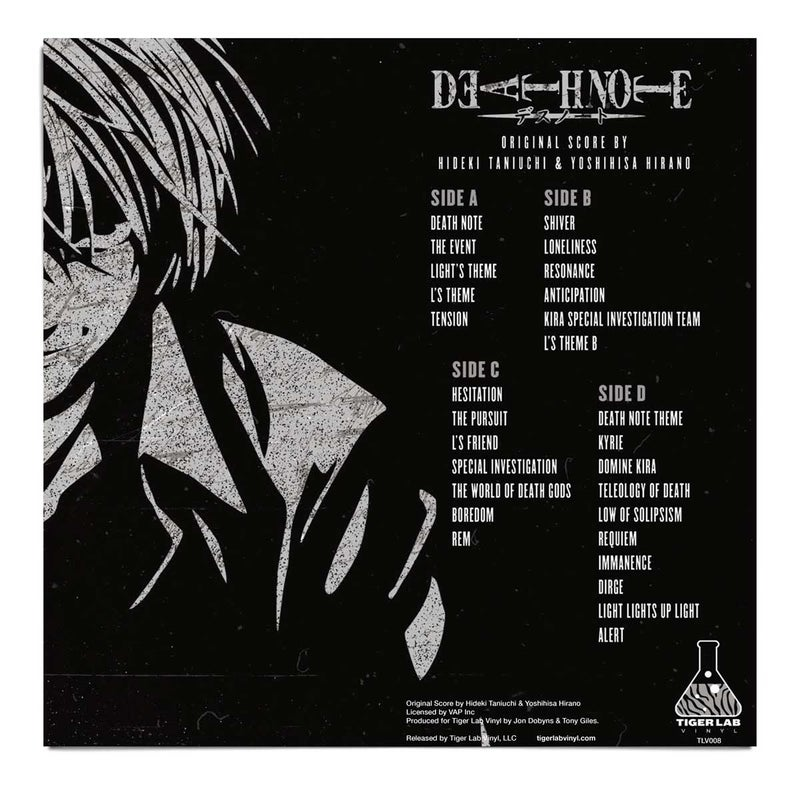Death Note Vinyl Soundtrack 2xLP