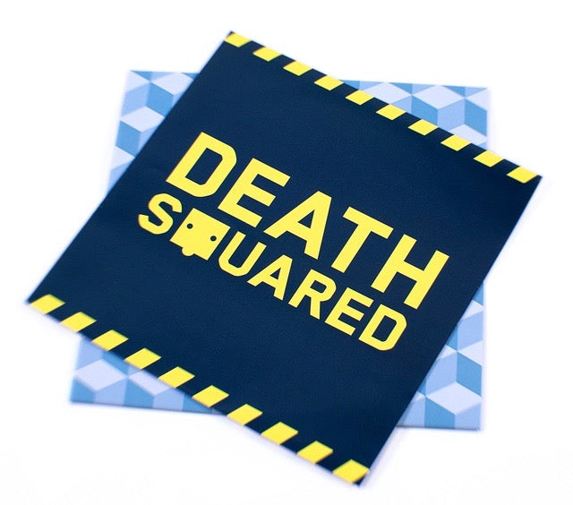 Death Squared Vinyl Record Soundtrack Gatefold art