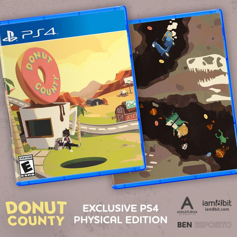 Donut County PS4 Physical Game 2