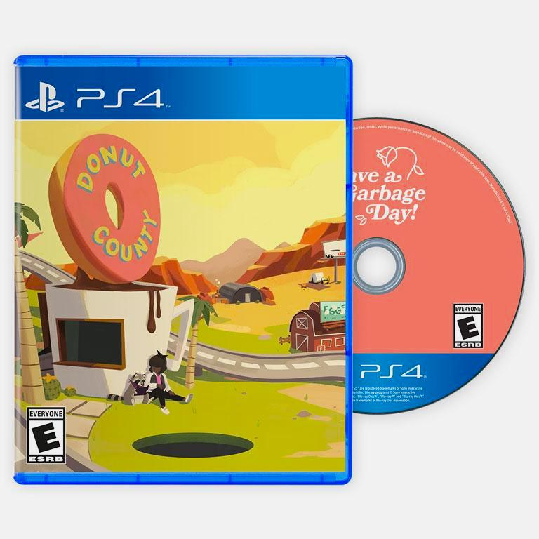 Donut County PS4 Physical Game