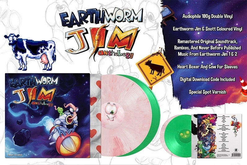Earthworm Jim Anthology by Tommy Tallarico Vinyl Soundtrack